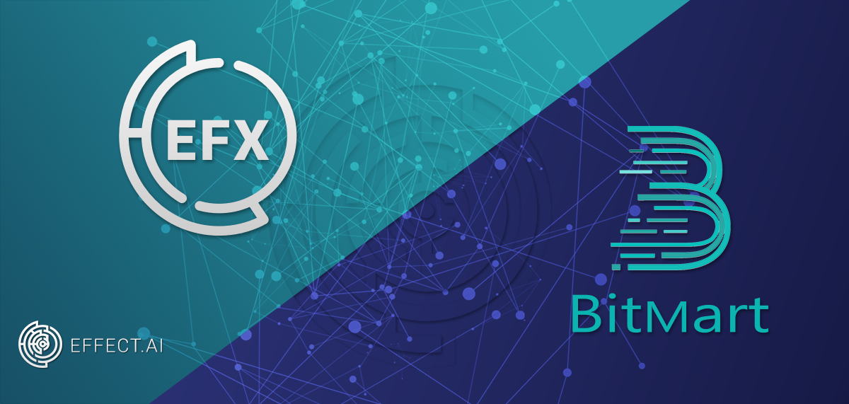 Following The Integration Of Neo And Nep 5 Token Compatibility Bitmart Exchange Proudly Announced That Effect Ai Efx Will Be First To
